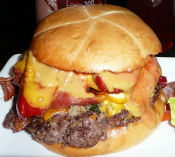 Onion Bacon Burger